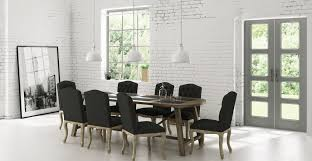 Kitchen Chairs by Warner Dining Set Dining Table U0026 8x Dining Chairs