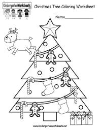 christmas tree worksheets for preschool u2013 christmas fun zone