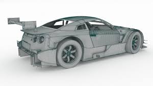 nissan gtr nissan gtr r35 nismo edition 2017 3d model cgtrader