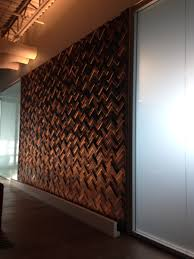 Wood Wall Treatments Project Profile Kpmg Langley Wall Feature U2013 Eco Floor Store