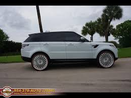 range rover sport custom wheels 2015 land rover range rover sport 4x4 supercharged custom