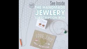 see inside the pop shop america handmade jewelry subscription box