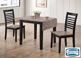 Dining Room Tables Sets Dining Set 4 Distressed Gray Dining Table Dining Room Tables