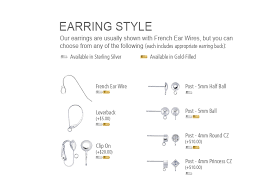 styles of earrings tallinn earrings