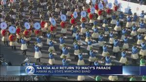 hawaii band to march in macy s thanksgiving day parade