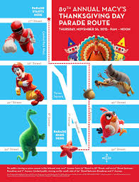here s the route for the 2015 macy s thanksgiving day parade