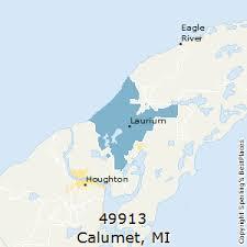 map of calumet michigan best places to live in calumet zip 49913 michigan
