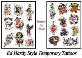 ed hardy rockabilly navy lg temporary last 1