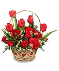 auburn florist sweet basket arrangement in auburn ny foley florist