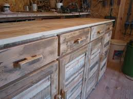 porte d ent de cuisine placards buffets touch du bois