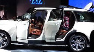 range rover sedan 2016 land rover range rover car in india youtube