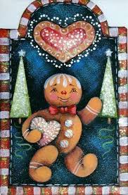 286 best painted gingerbread 2 images on tole painting