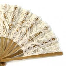 discount wedding supplies antique lace fan ivory buy ivory lace fans