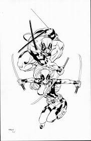 deadpool and the misses by tonykordos on deviantart