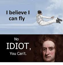 I Believe I Can Fly Meme - i believe i can fly no idiot you can t meme on me me