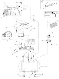 campbell hausfeld fp209002 parts diagram for air compressor parts
