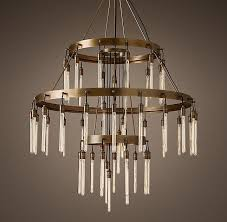 Chandelier Restoration Filament Chandelier Chandeliers Restoration Hardware