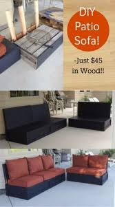 Patio Furniture Slip Covers Diy Cushions For Patio Furniture Super Easy I Didn U0027t Have Old