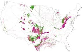 Map Of Federally Owned Land In Usa by The United States Of Oil And Gas Washington Post