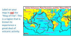 Plate Tectonics Map Volcano Mapping Earth U0027s Major Tectonic Plates The Arrows Indicate