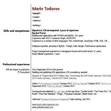 it software developer resume sample thesis irandoc ac ir