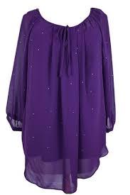 purple blouse plus size buy womens purple silver blouse top plus size 16 18 20 22 24