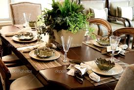 dining room table setting for christmas 27 modern dining table entrancing dining room table settings home