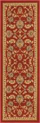 Rubber Backed Bathroom Rugs by Timeless Oriental Red Traditional Classic Sarouk Mat Non Slip