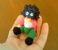 felt golliwog pattern miniature crochet golliwog doll http www bubblews com news