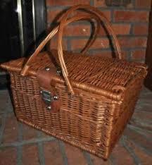 Wicker Basket Ebay