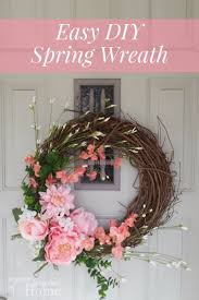 easy diy spring wreath rocky mountain bliss