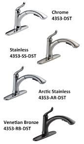 delta kitchen faucet reviews delta 4353 4353t dst linden single handle pull out kitchen faucet