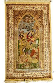 Arts And Crafts Style Rugs Silk Oriental Rugs Archives Kashmir Fine Arts U0026 Craftskashmir