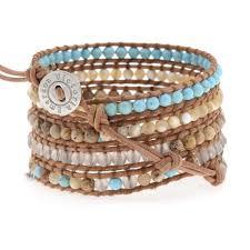 bead wrap bracelet leather images Wrap bracelets victoria emerson jpg