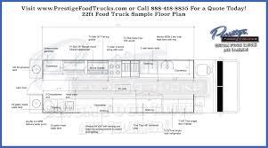 Custom Floor Plan Custom Food Truck Floor Plan Samples Prestige Custom Food Truck