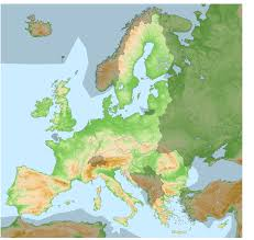 Brussels On World Map topographical map of europe roundtripticket me