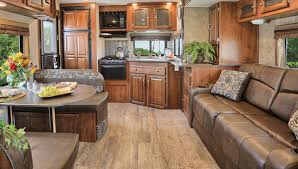 Cer Trailer Kitchen Designs Custom Travel Trailer Interiors Home Decor 2018