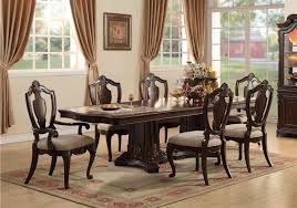 9 Pc Dining Room Set by Lacks Riviera 9 Pc Dining Room Set