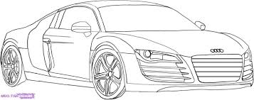 cars drawings drawn race car audi car pencil and in color drawn race car audi car
