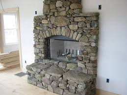 Outdoor Fieldstone Fireplace - download fireplace stones widaus home design