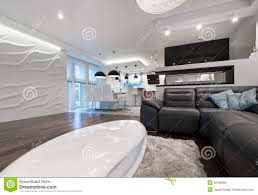 modern kitchen interior design stock image image 50484629