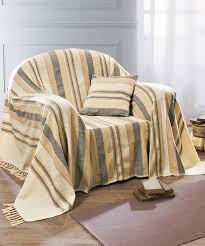 jeté de canapé jeté de fauteuil ou de canapé vert textile de maison damart