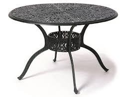 Aluminium Patio Table Grand Tuscany 48