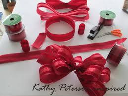 bow supplies kathy peterson diy christmas bow supplies christmas