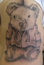 cool teddy bear tattoo tattoo designs tattoo pictures