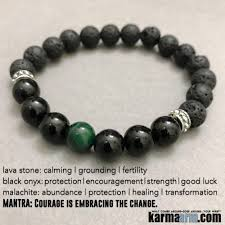 mens beaded jewelry bracelet images Beaded bracelets courage malachite black onyx lava yoga jewelry jpg