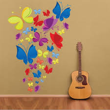 Butterfly Kids Room by Butterfly Wall Stickers Art Decal Removeable Wallpaper Mural