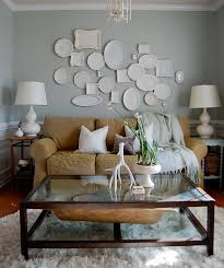 suzie the nester chic cozy living room with gray walls paint