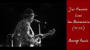 Radio One Jimi Jimi Hendrix All Along The Watchtower Live In San Bernardino