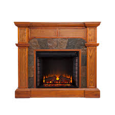 real looking electric fireplace binhminh decoration